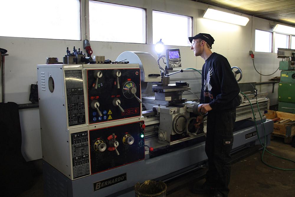 Investointituki auttoi KN Metal & Service Oy:tä hankkimaan tarvittavia koneita