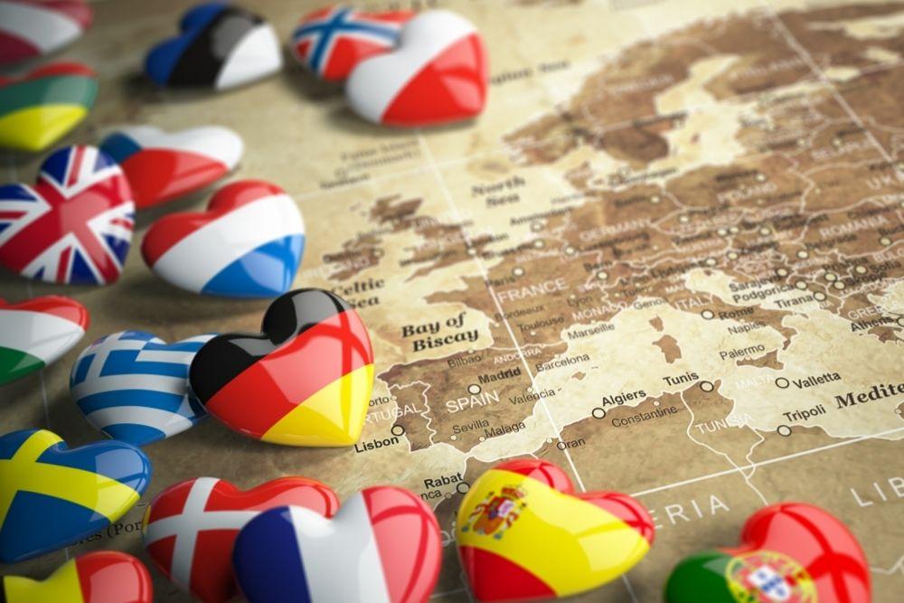 Euroopan kartta kuvaa kansainvälistymisen mahdollisuuksia