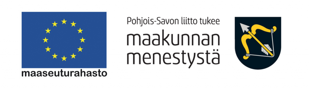 Euroopan maaseuturahasto ja Pohjois-Savon liitto logot