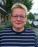 Kirkonkylät palvelukeskuksina-henkkeen projektipäällikkö Seija Korhonen.