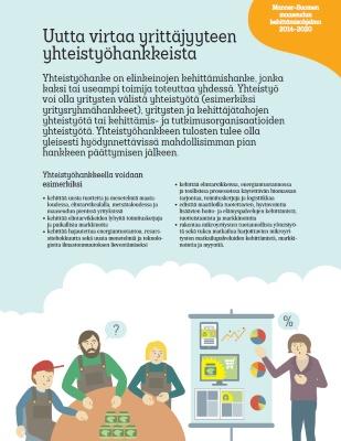 Uutta virtaa yritysryhmähankkeista, ohjeita ja vinkkejä.